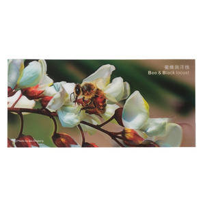 3D Bee Picture - Black Locust