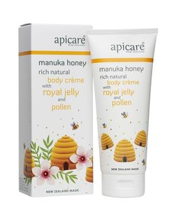 Manuka Honey Body Creme with Royal Jelly and Pollen